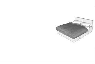 CUBIQZ Pappmöbel für Schlafzimmer