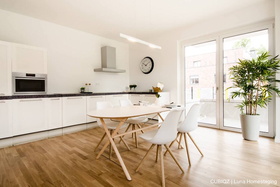 Home Staging mit CUBIQZ Pappküche 8