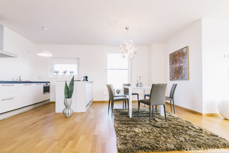 Home Staging mit CUBIQZ Pappküche 12