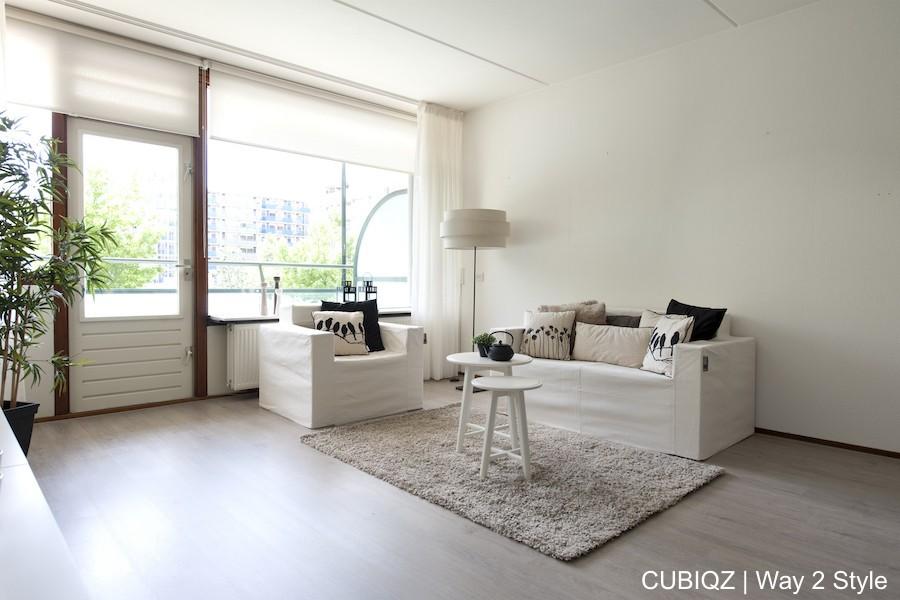 19. Home Staging mit CUBIQZ möbeln aus Pappe mit Maßgeschneiderten Stoffbezügen in Farbe Off White