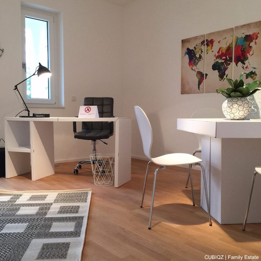 home Staging with CUBIQZ cardboard furniture